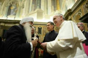 Bhai Sahib Ji with Pope Francis