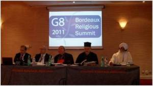 Bhai Sahib at G8 Religious Leaders Summit