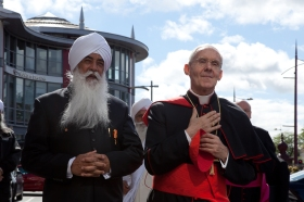 Bhai Sahib with Cardinal Jean-Louis Tauran