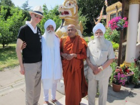 Sikh and Buddhist friends together (1)