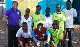 Aston Villa fans give Kenyans kit to choose right paths
