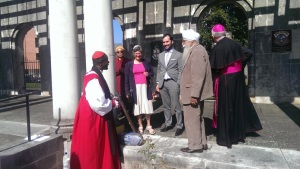 Bishop Wolliston (Connecticut, USA) meets with Faith Leaders