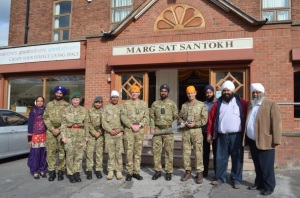 Nishkam Community Cooperative, MSS, welcomes Army guests