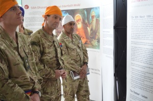 Army learns about the Sikh Dharam (faith) in the Nishkam Anglo-Sikh             Heritage Centre