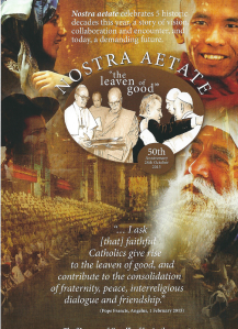 Nostra aetate, The 'Leaven of Good' - a film celebrating 5 historic decades; a story of vision, collaboration and encounter, and today, a demanding future. The film was shown during the conference and also contains an Interview