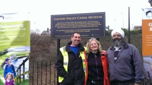 Steve Lambert, Canal and River Trust, Victoria Finlay, Alliance of Religions and Conservation and Amrick Singh, Nishkam Centre