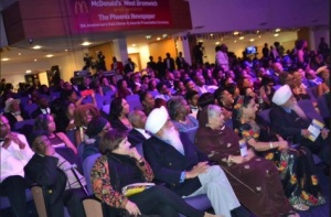 All the guests captivated during the performances and Awards Ceremony