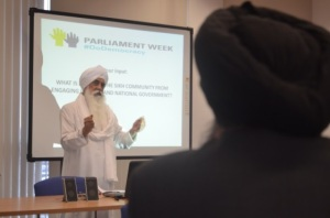 Bhai Sahib Bhai Mohinder Singh OBE recalls the historical significance of 'Sikhs and politics' and the importance of good human beings