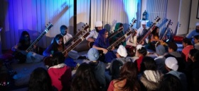 Roopa Panesar's Sitar Students from the Nishkam Centre