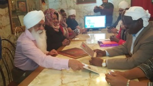 Bhai Sahib Ji discuss some of the projects undertaken in Kericho