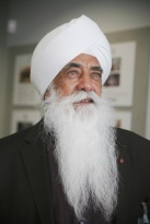 Present Spiritual Leader and Chairman of GNNSJ, Bhai Sahib, Bhai (Dr) Mohinder Singh Ahluwalia OBE